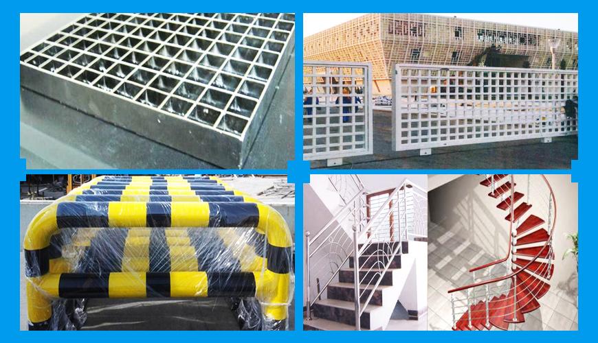 Structural steel fabricators uae, stainless steel
