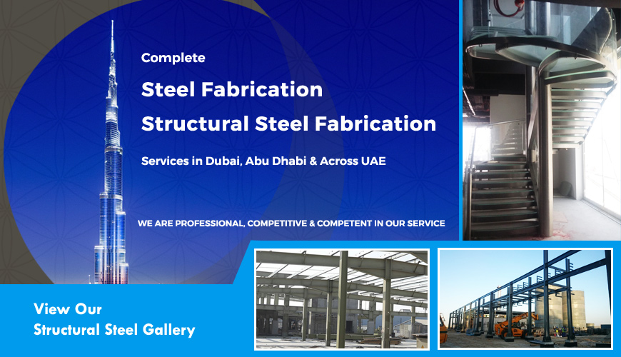 Structural steel fabricators uae, stainless steel
